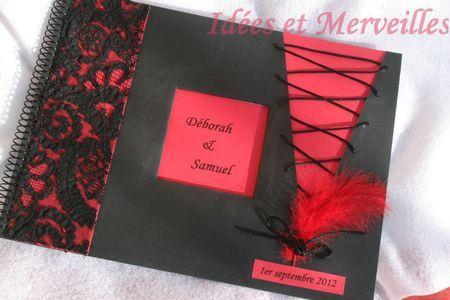 livre d'or cabaret rouge et noir (15bis )