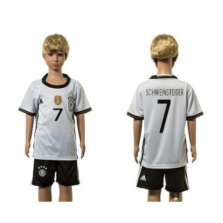 Tyskland Trøje Børn 2016 #Schweinsteiger 7 Hjemmebanetrøje Kort ærmer.199,62KR.shirtshopservice@gmail.com