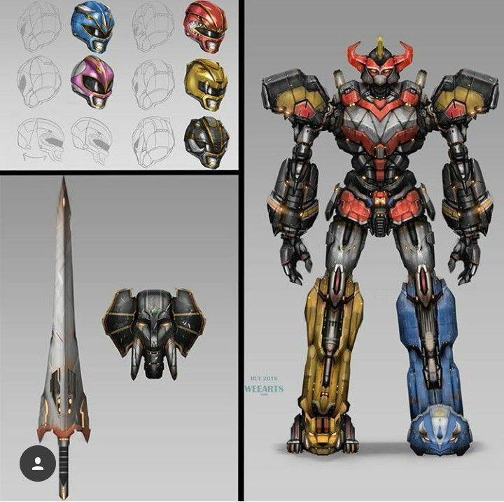 Großartig Malern Der Macht Ranger Samurai Zord Zeitgenössisch ...