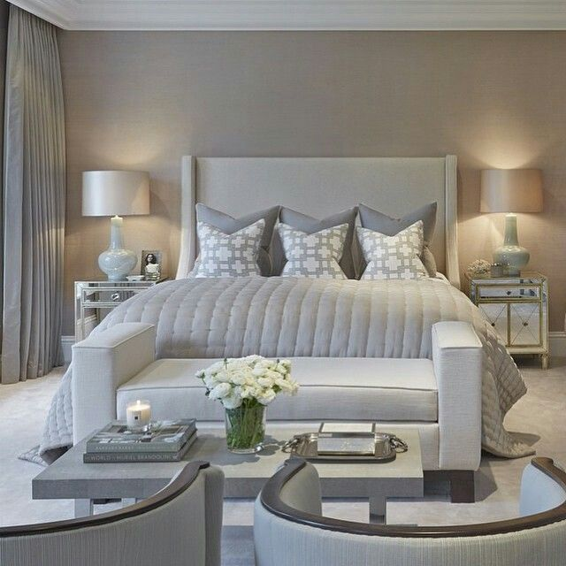 17 best images about bedroom inspiration on pinterest silver bedroom bed linens and vanities - Beautiful images of sweet bedroom design and decoration for your inspiration ...