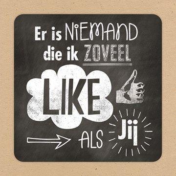 Er is niemand die ik zoveel like als jij! #Hallmark #HallmarkNL #vriendschap #wenskaart