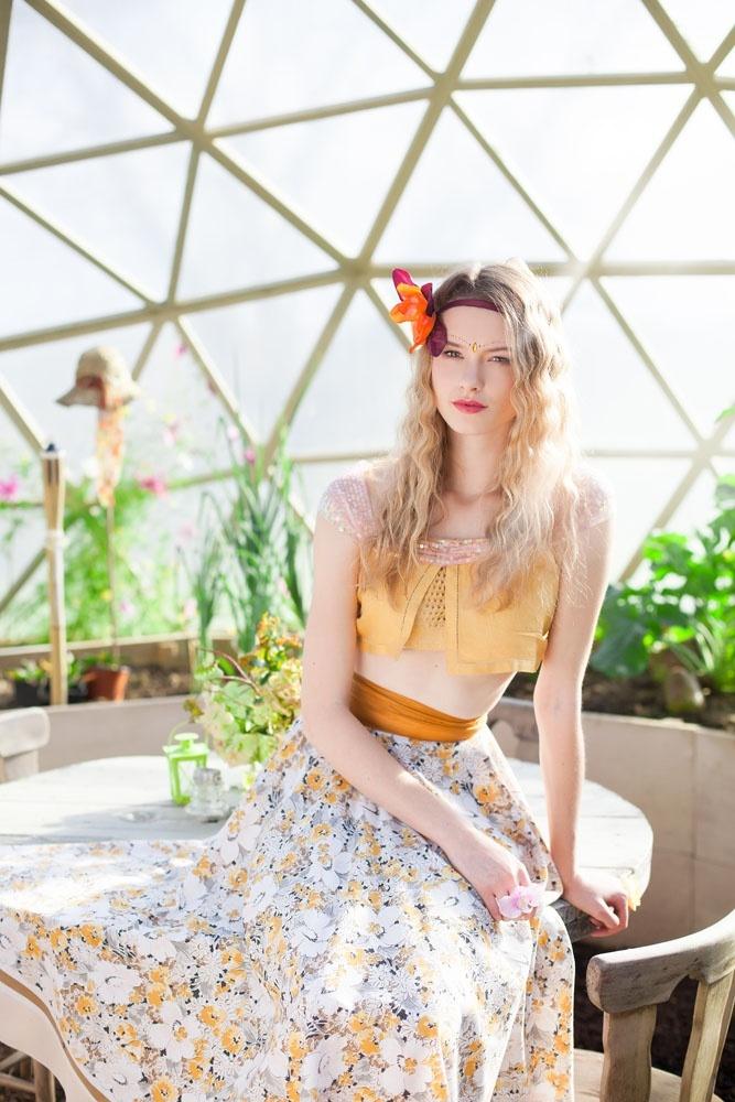 Alice Halliday designs modeled by Georgina Bevan (Tess Management) photography: Anuzis Photography.com Hair: rosao.com Styling: style4you.ie location: bespokestructuresireland.com