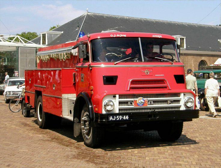 1970 - DAF A2200 DKD Brandweerwagen