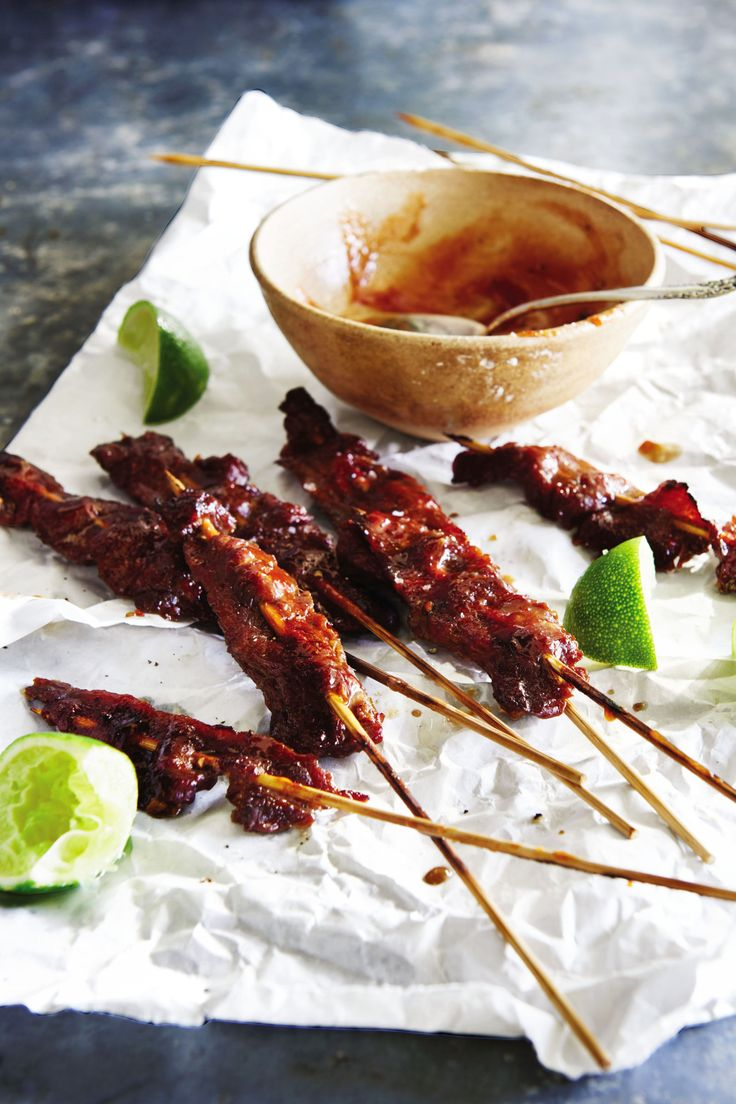 Almost Mongolian Beef Satay Skewers - GoodHousekeeping.com