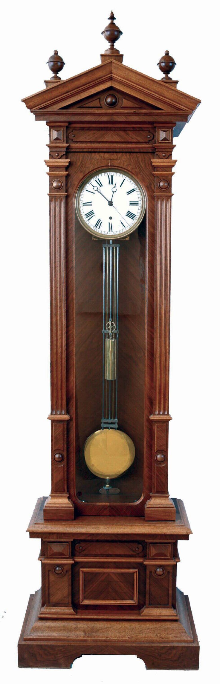 339 b sta bilderna om wall clock p pinterest antikviteter vienna och art deco - Wall mounted grandfather clock ...