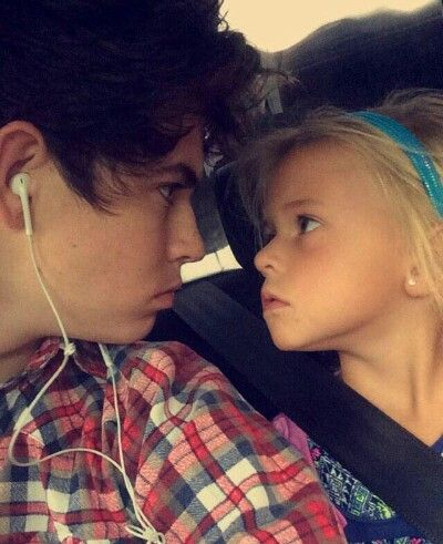 Nash and Skylynn are sibling goals