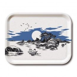 Moomin 'The Island' Tray