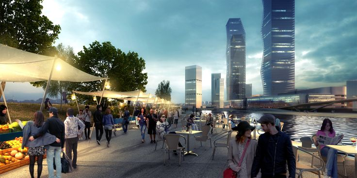 Galeria de Consórcio SYNWHA vence concurso para projetar o parque da orla de Busan North Port - 2