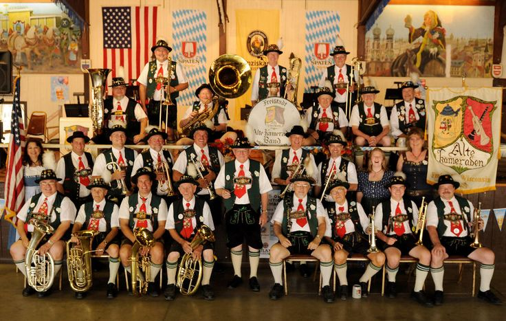 The Freistadt Alte Kameraden Band was formed in 1942, and has been performing at events and festivals both here and in Germany since then.