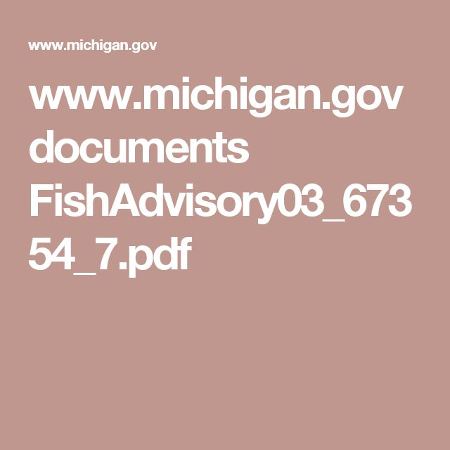 www.michigan.gov documents FishAdvisory03_67354_7.pdf