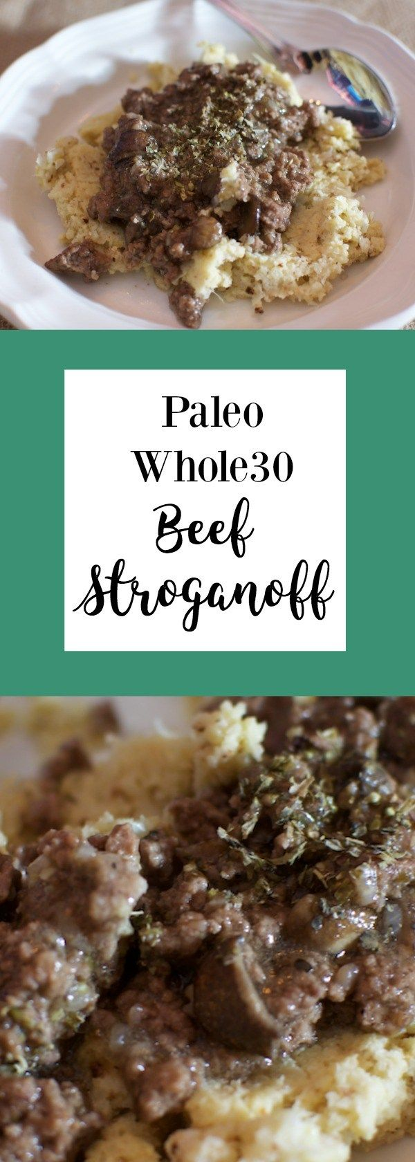This whole30 Beef Stroganoff is one of my go to comfort food meals this winter! | Real Foodie Family