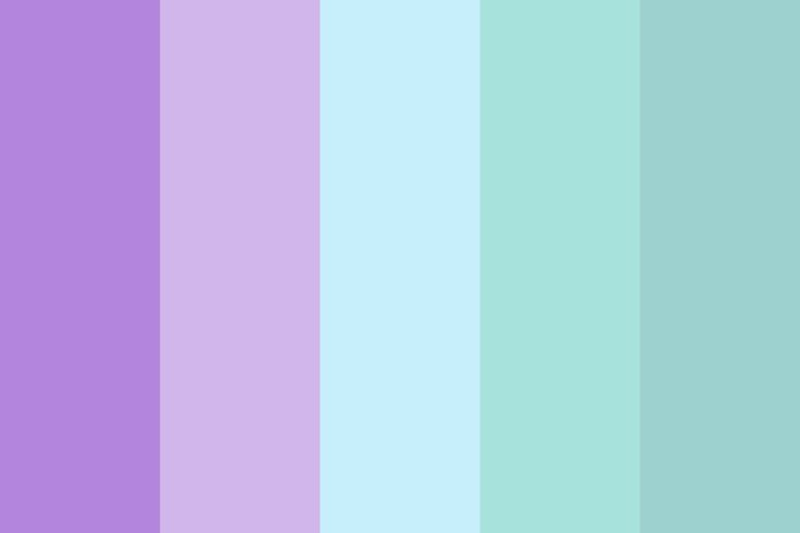 Mermaid Magic color palette