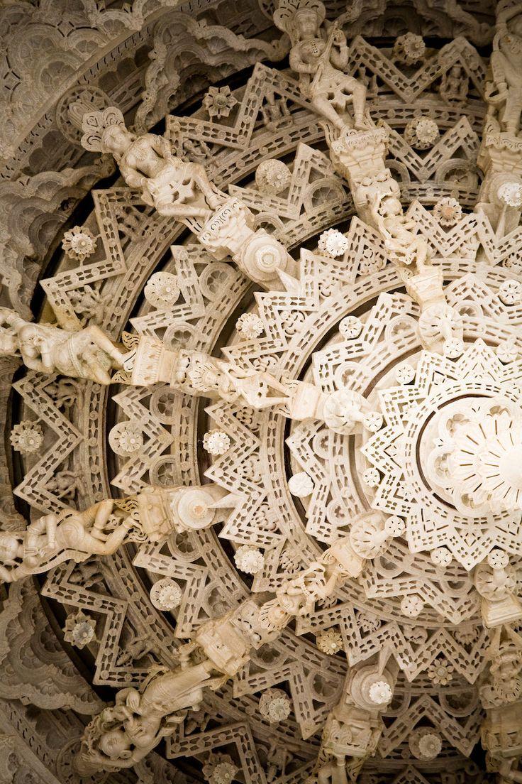 Adinatha Temple, Ranakpur. Jain temple. Rajasthan, India. | © Fabian-F, via Flickr