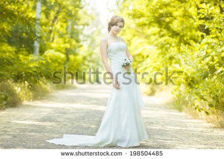Fotos stock Wedding On The Road, Fotografia stock de Wedding On The Road, Wedding On The Road Imagens stock : Shutterstock.com