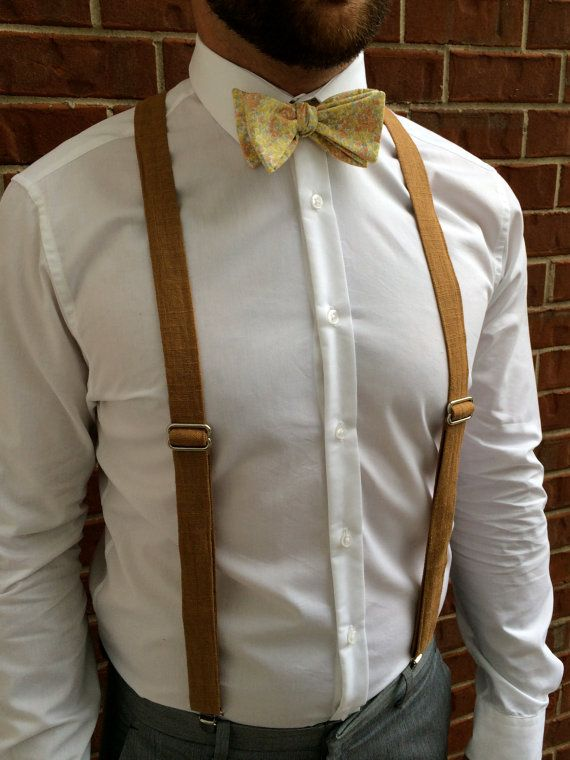 Hey, I found this really awesome Etsy listing at https://www.etsy.com/listing/108414727/faux-burlap-mens-suspenders