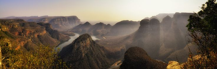 On top of the world at Blyde River Canyon