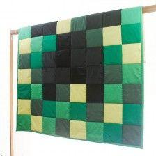 Přehozy a deky z patchworku
