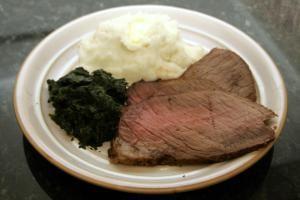 Surprisingly Easy Round Tip Roast Recipe: Beef Round Tip Roast