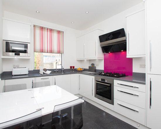 Pink Kitchen Design Hubru Rozovyj