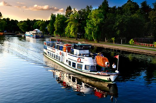 Inter Travel kelionės.  Augustavas, Lenkija. white fleet - Augustow