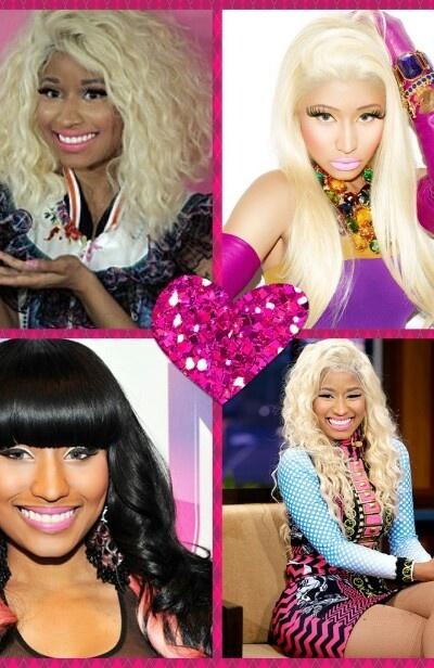 Nicki Manaj is hot in her pink #prettyinpink