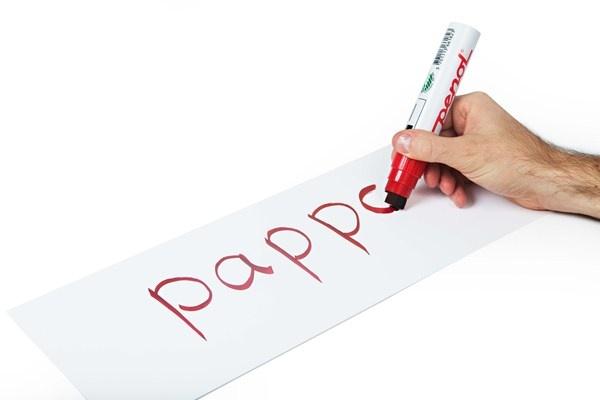 Å skrive på blanke ordkort