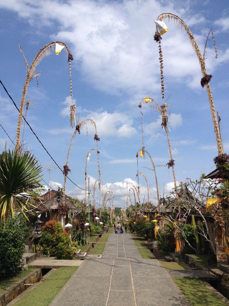 .... Desa Panglipuran Bali,Indonesia ...
