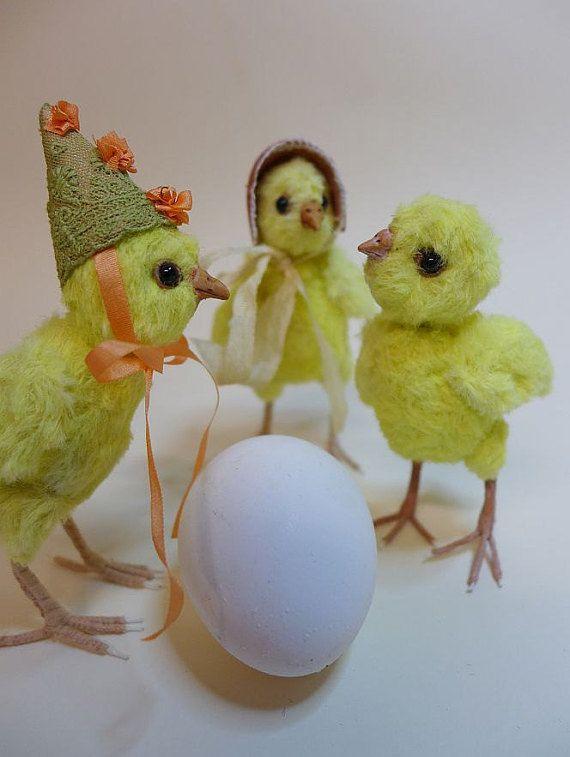Hühnerküken selbst genäht ebook PDF mit von TheFurryCritters