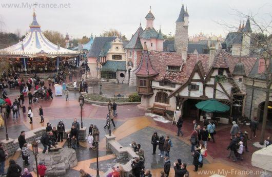 Диснейленд в Париже. Страна фантазий (Fantasyland)