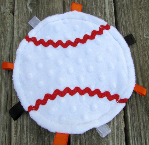 San Francisco Giants Baseball Minky Lovie by LovePitterPatter, $10.00