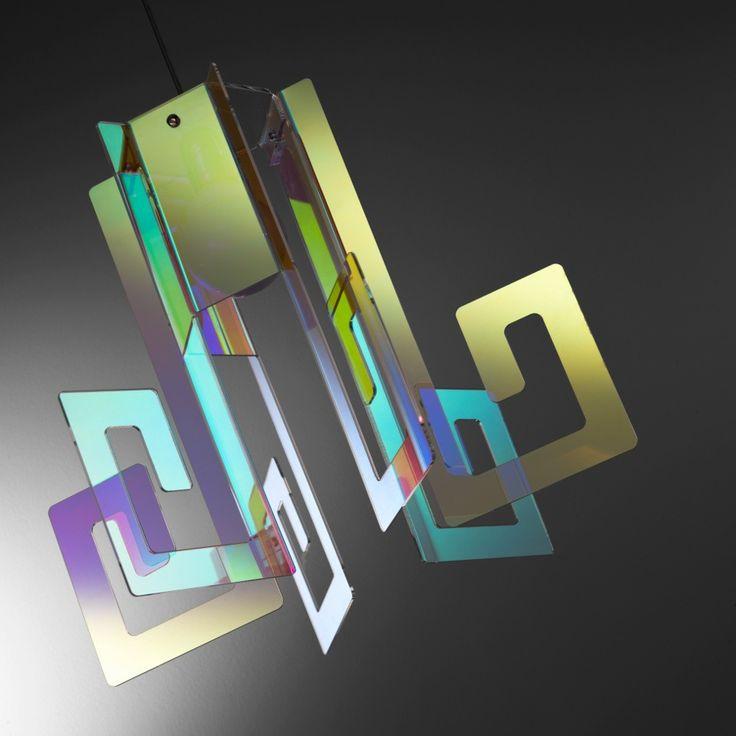 Korona+lampadario+moderno+plexiglass