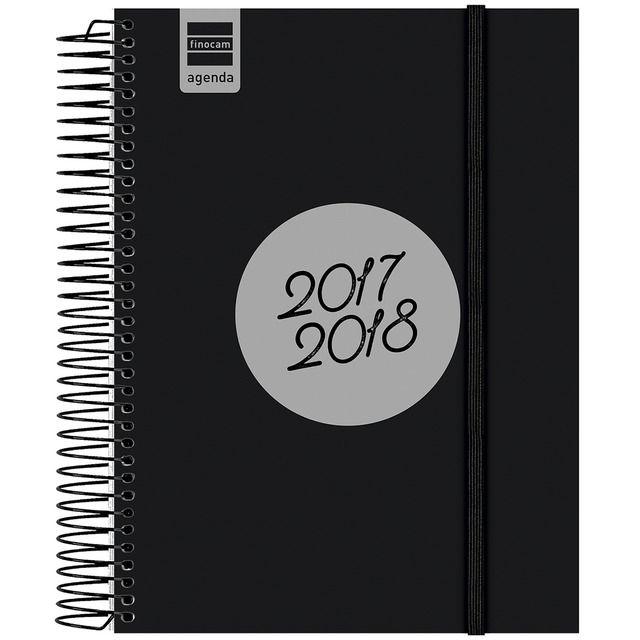 Agenda Catalán Espir 2017-2018 E10 1 Día Página Finocam Modelo Label Negro · Papelería · El Corte Inglés
