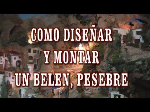 DIY COMO DISEÑAR Y MONTAR UN BELÉN, PRESEPI, PRESEPIO (así es como lo hago yo) - HOW TO MAKE A BELEN - YouTube