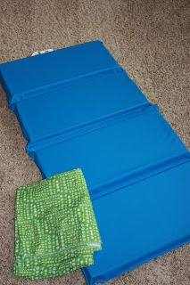 nap mat cover tutorial | casaone.five.one