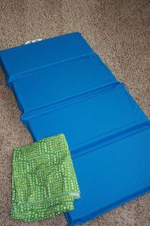 nap mat cover tutorial | casaone.five.one