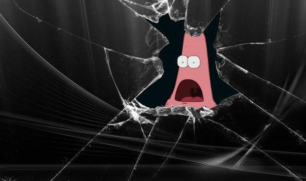 Cracked Screen Background Free Broken Screen Wallpaper Screen