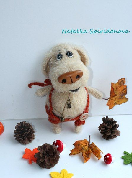 Вязаные игрушки Натальи Спиридоновой