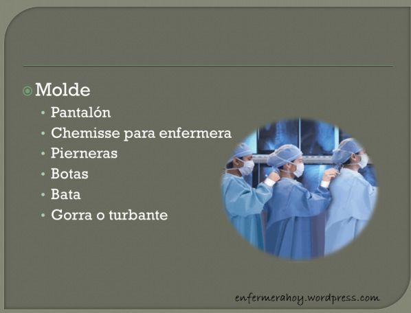 La Ropa Quirúrgica tiene la función de servir como una barrera estéril entre la herida quirúrgica y la probable fuente de contaminación, como podría ser la transmisión de microorganismos desde el equipo quirúrgico y el propio paciente hasta la herida quirúrgica abierta.  La Ropa Quirúrgica la podemos clasificar en:  Ropa Quirúrgica Plana Ropa Quirúrgica Molde