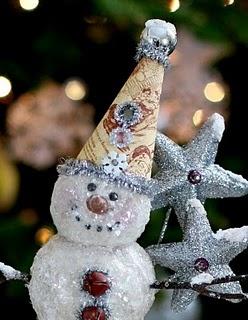 designer wedding ring snowman tutorial
