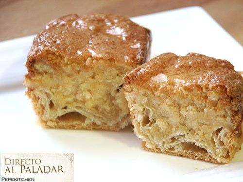 Carbayones - famous traditional Almond Pastry from Asturias, Spain.  (Sorry my English speaking friends, this recipe is in Spanish)