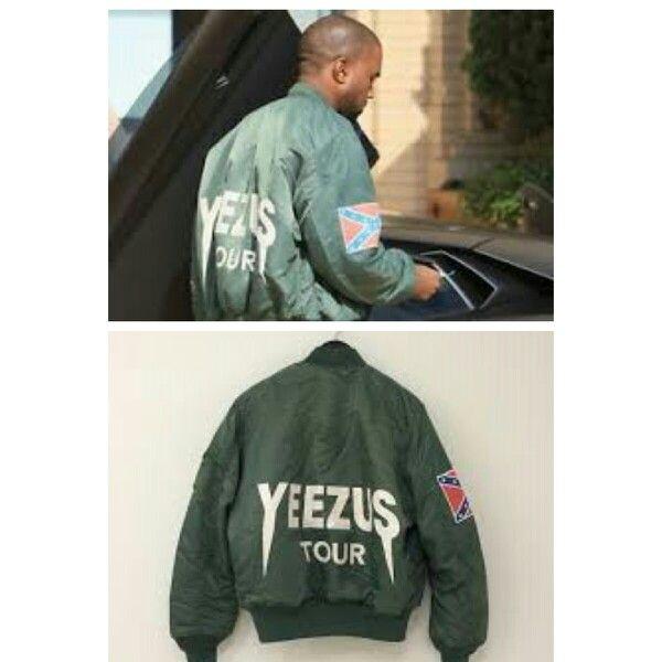 Kanye West Yeezus Tour Bomber Jacket Olive Green Kanye West Yeezus Yeezus Tour Bomber Jacket