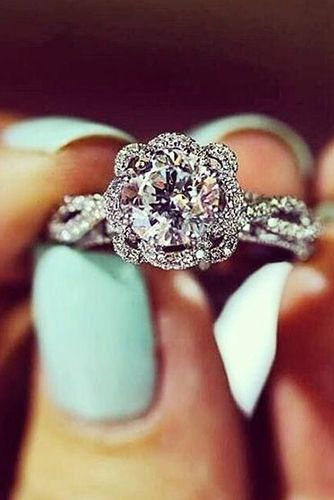 5 must read reasons why a halo engagement ring deserves to be on your wish - Wedding Rings Pinterest