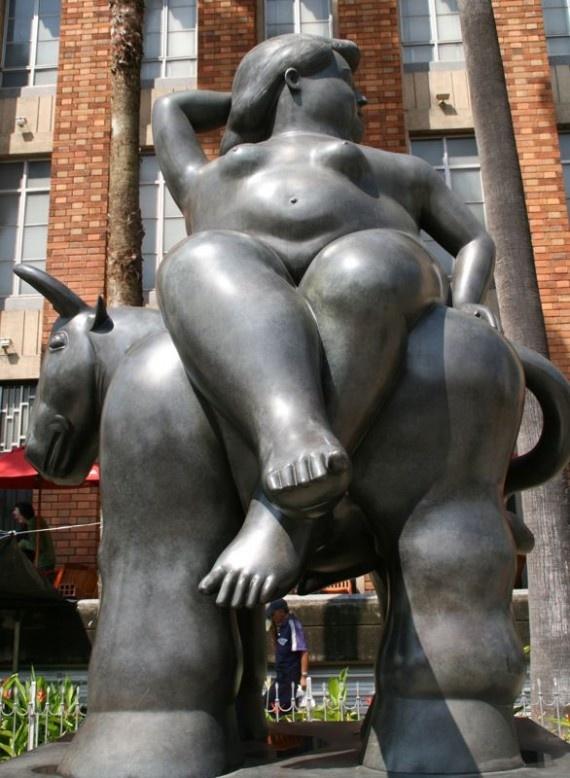 Exploring Botero's Fat Sculptures in Medellin