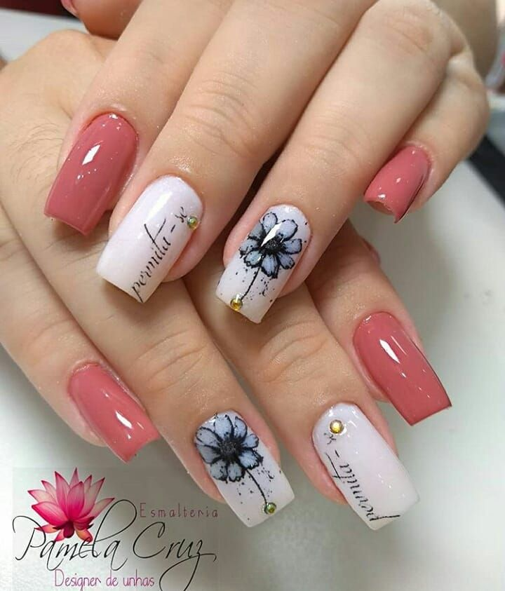 Pin De Janeth Carballo En Uñas Decoradas En 2019 Pinterest Nails