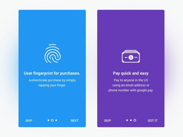 Payment Fingerprint onboarding illustration