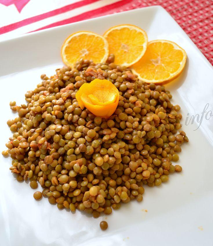 ricetta lenticchie all'arancia per capodanno (6)