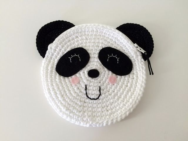 25+ best ideas about Crochet Panda on Pinterest Crochet ...