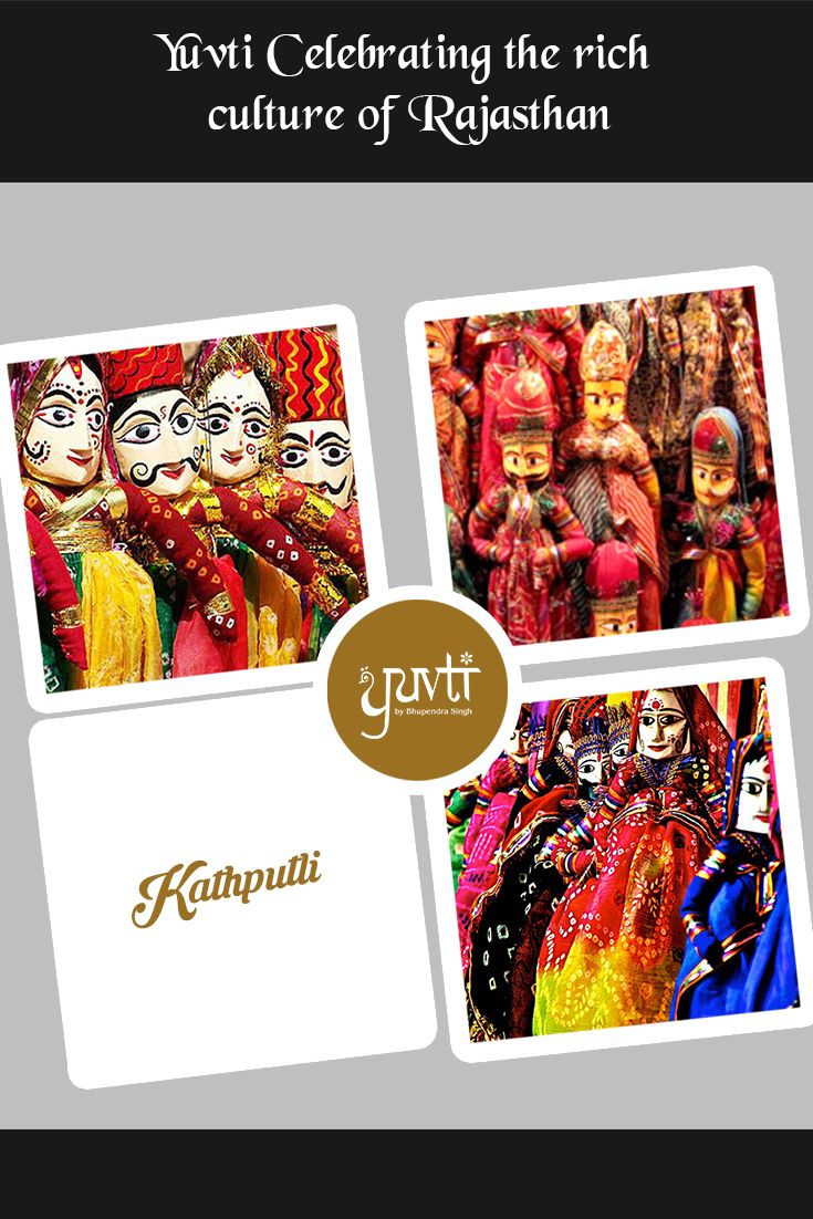 Surviving the test of time, the Kathputli is the art of telling stories through puppets. #culture #rajasthaniculture #rajasthan #kathputli #yuvti