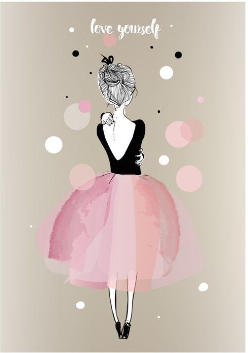 Pretty Pink from $34.99 | www.wallartprints.com.au #ArtForKids #KidsRoomArt