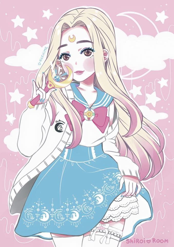 32 best pastel goth harajuku soft grunge kawaii - Best girly anime ...